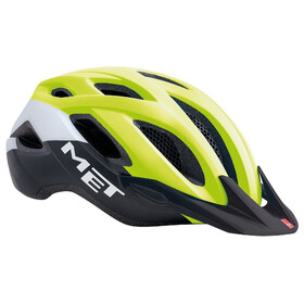 MET Crossover Bike Helmet yellow/black